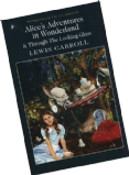 'Alice's Adventures in Wonderland' book & Mad Hatter retail teabags 80's